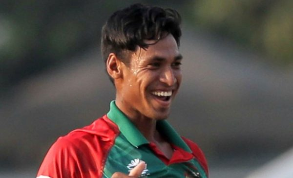 Bangladesh bowler Mustafizur Rahman on Saturday at Eden during a ICC T20 World Cup    match between Bangladesh and New Zealand. He scalped five wickets in the match. Express photo by Subham Dutta. 26.03.16
